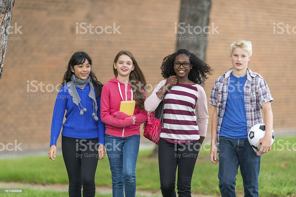 Junior High royalty-free stock photo