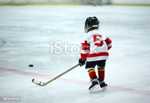 istock Junior ice hockey. 161819228