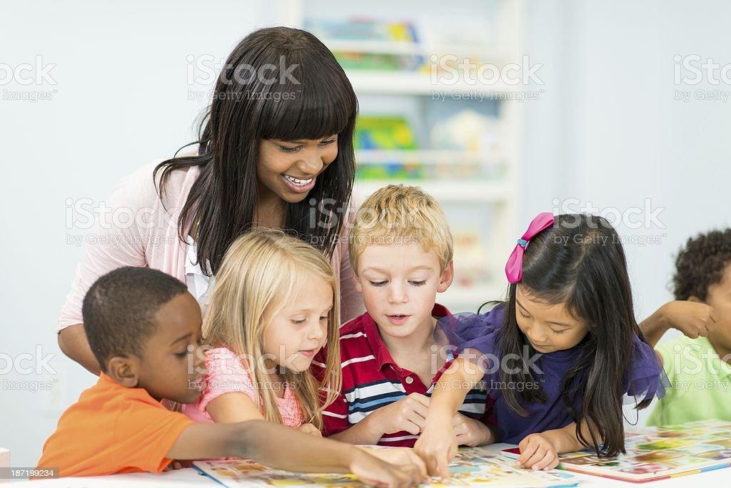 Junior Kindergarten royalty-free stock photo