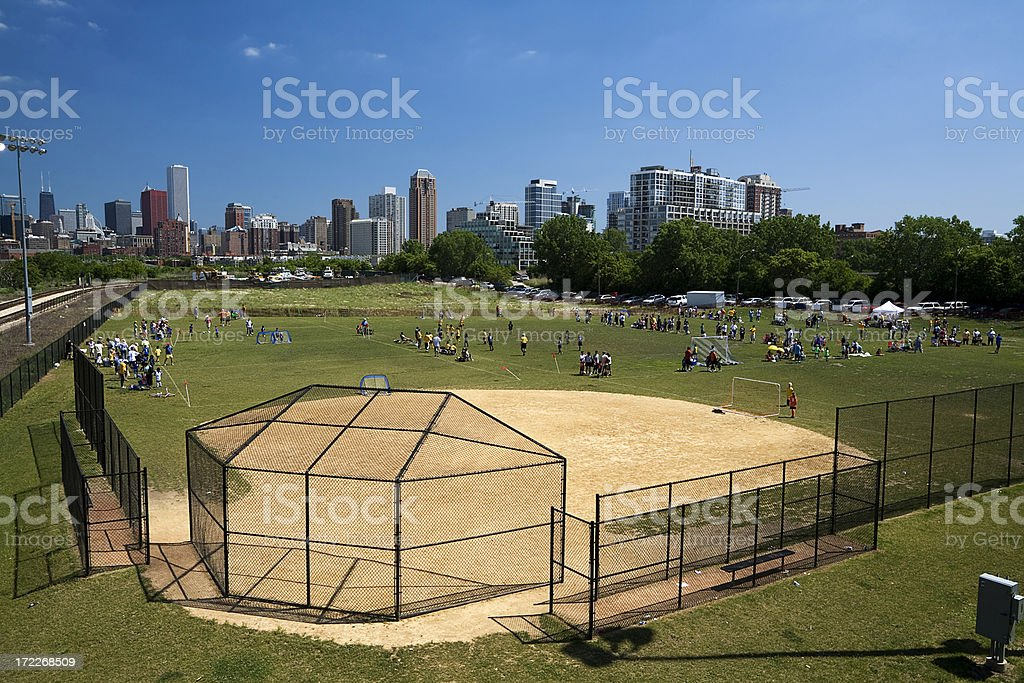 Junior Sports, Chicago royalty-free stock photo
