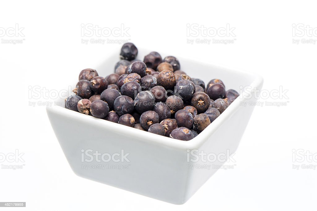 juniper berry - foto de stock