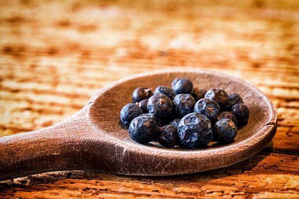 juniper berry - foto de stock