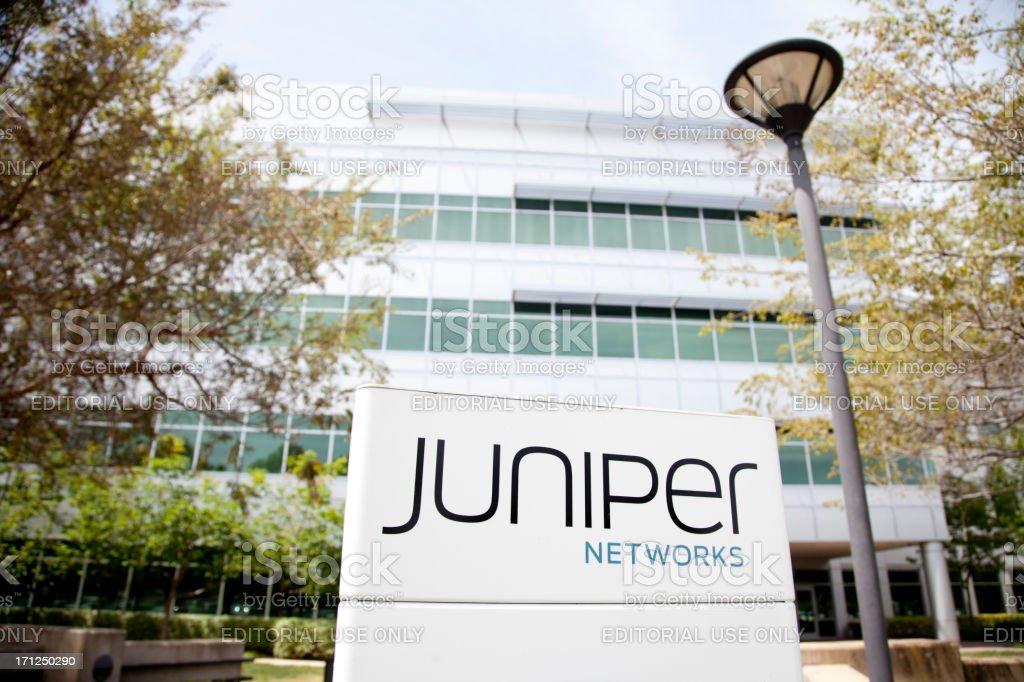 Juniper Networks stock photo