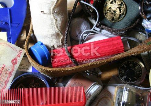 Stuff in a junk drawer
