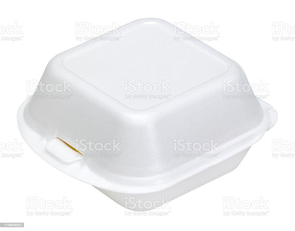 junk food box stock photo