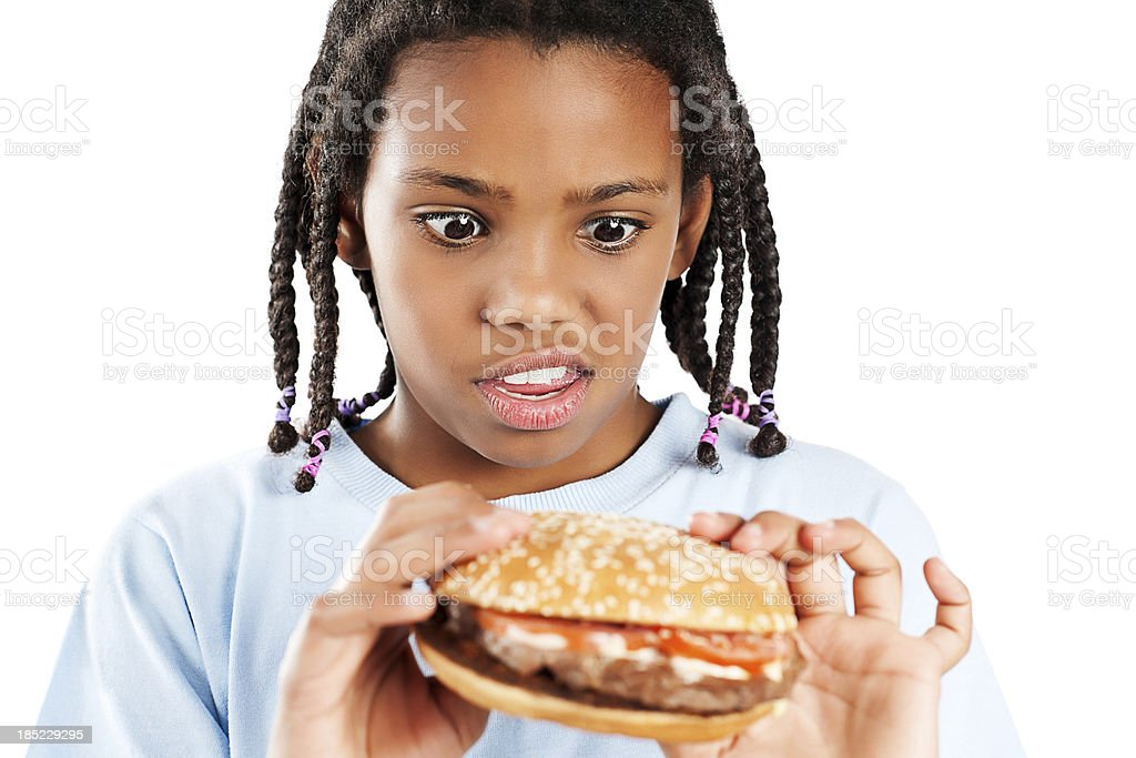 Junk food! stock photo