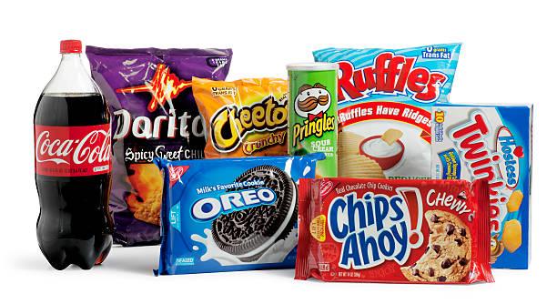 Basura de alimentos - foto de stock