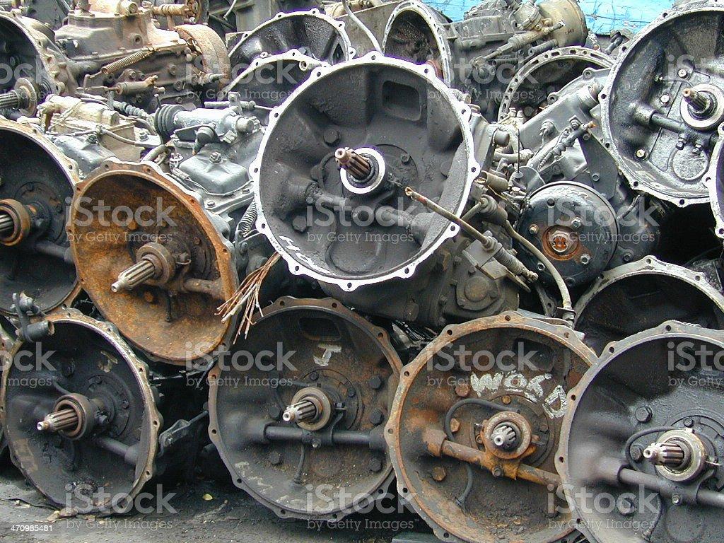Junk Yard royalty-free stock photo