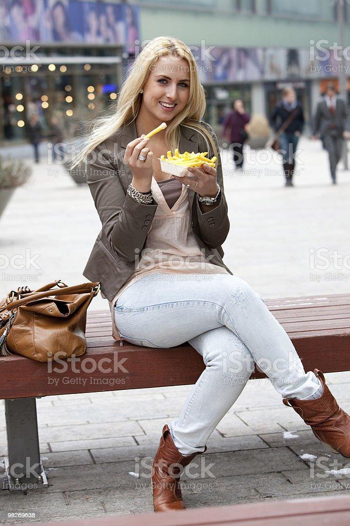 Junkfood royalty-free stock photo