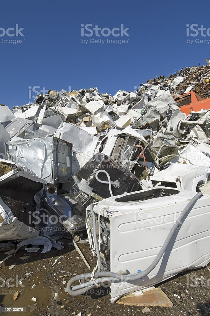 Junkyard For Old Household Goods stock photo
