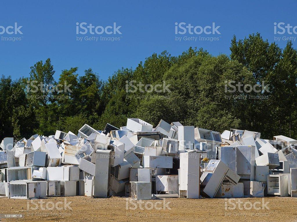 Junkyard - Royalty-free Appliance Stock Photo