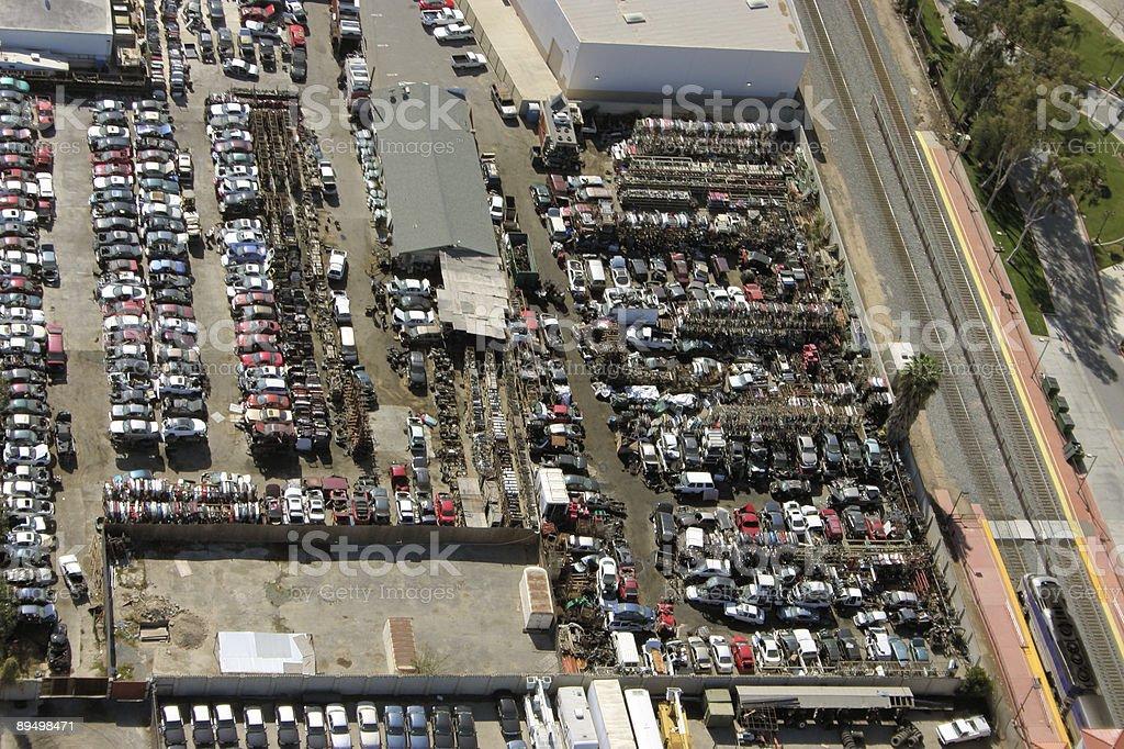 junkyard royalty free stockfoto