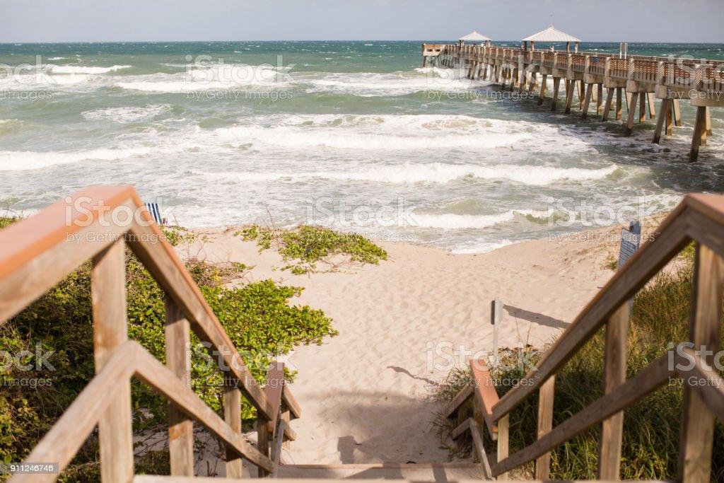 Juno Beach, Florida stock photo