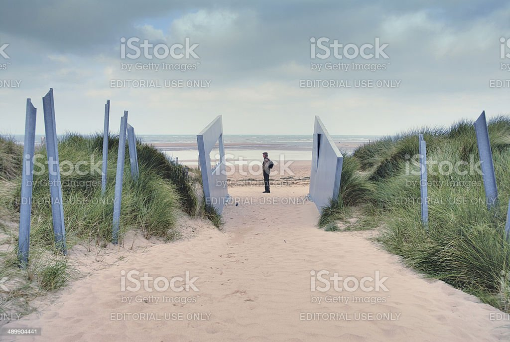 Juno Beach stock photo