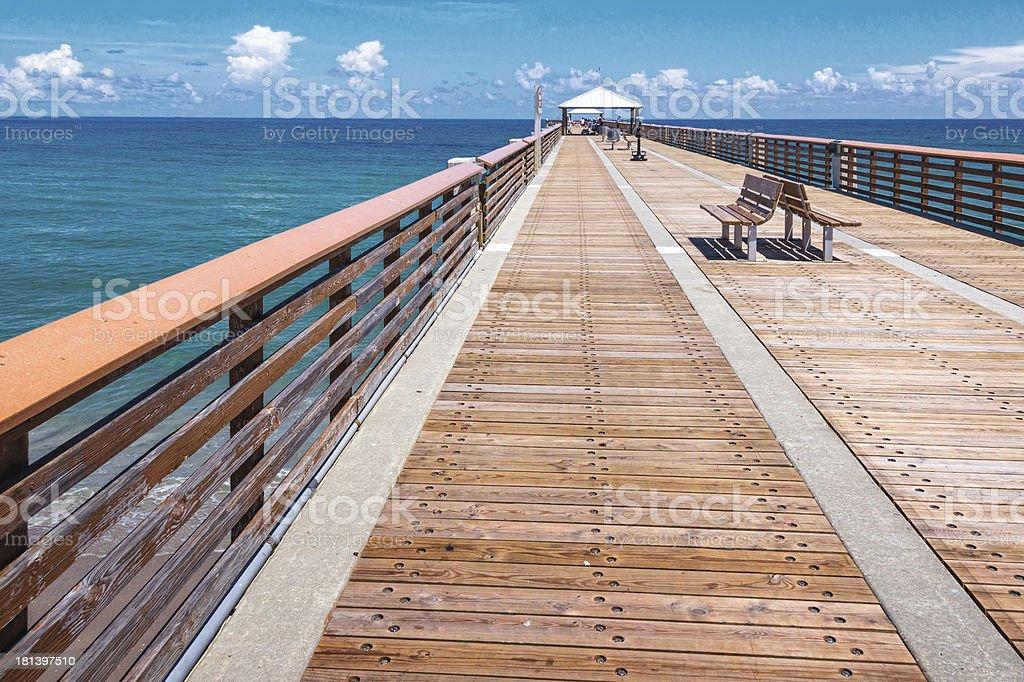 Juno Pier stock photo