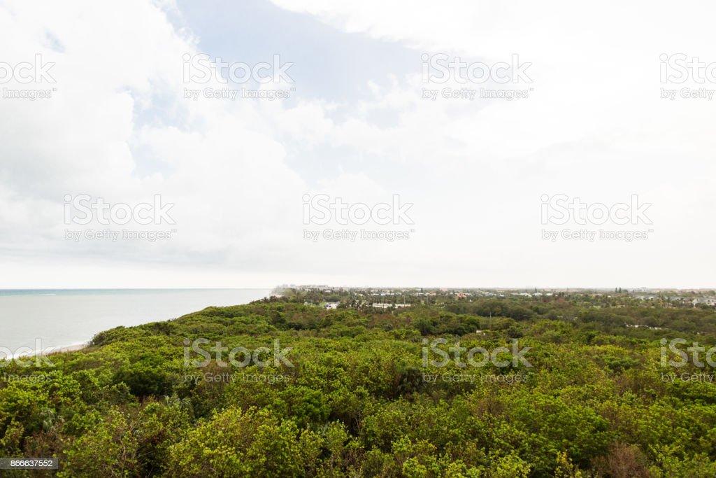 Jupiter, Florida View stock photo