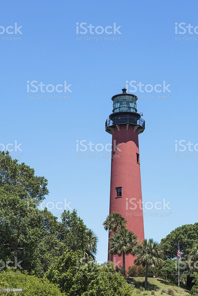 Jupiter Inlet Lighthouse royalty-free stock photo