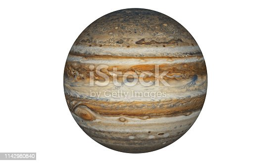 Artist's concept of Jupiter Planet ( Elements of this image furnished by NASA.Credit must be given and cited to NASA)