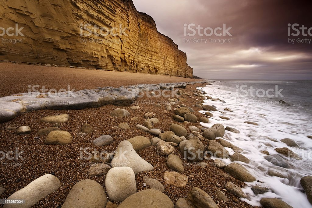 Jurassic Coast royalty-free stock photo