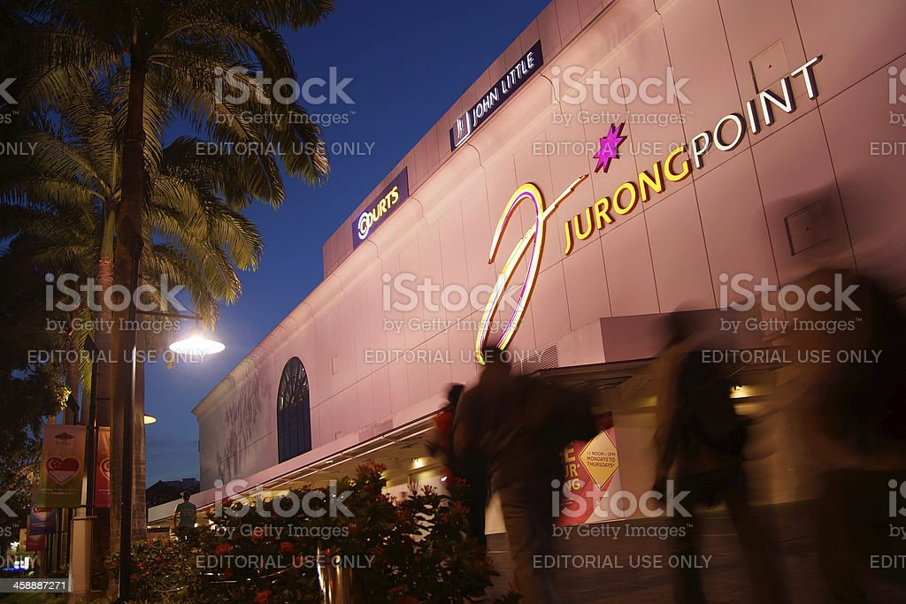 Jurong Point stock photo