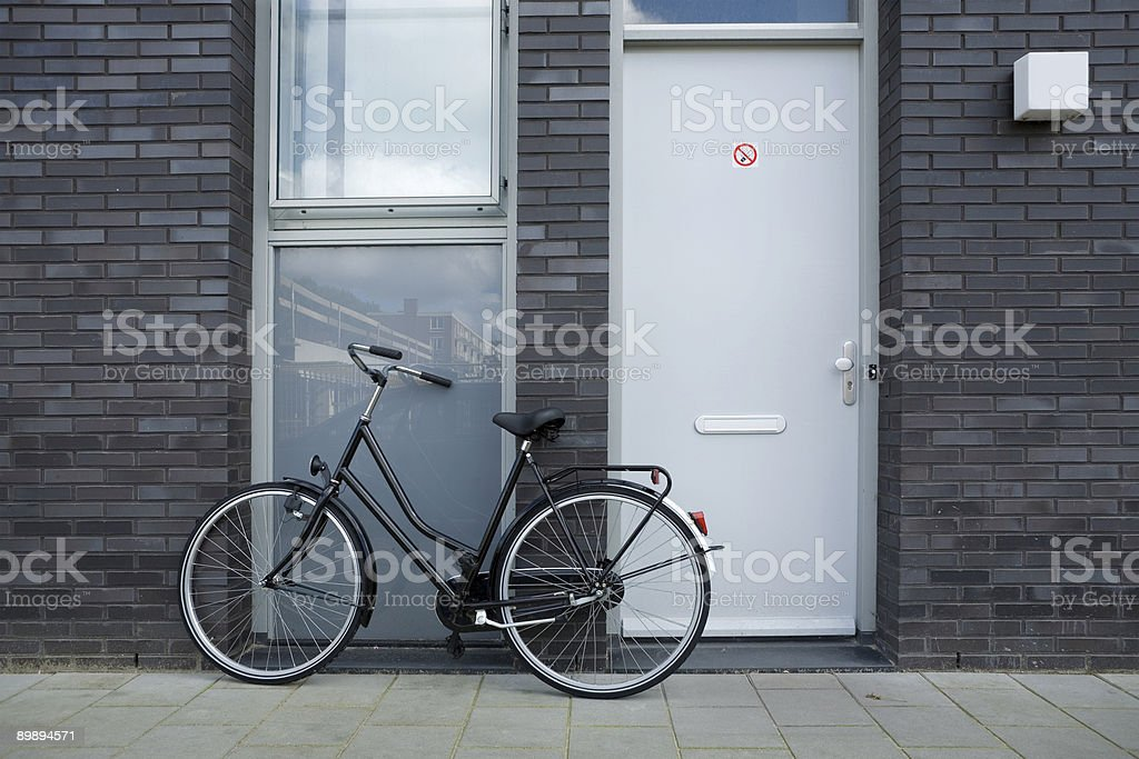 Just a bike royalty-free stock photo