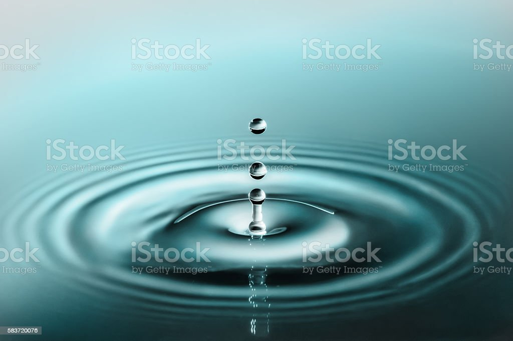Just a Drop of Elegance stock photo