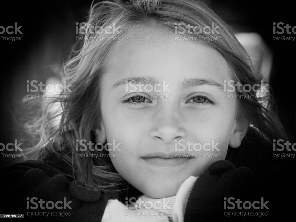 Just A Girl stock photo