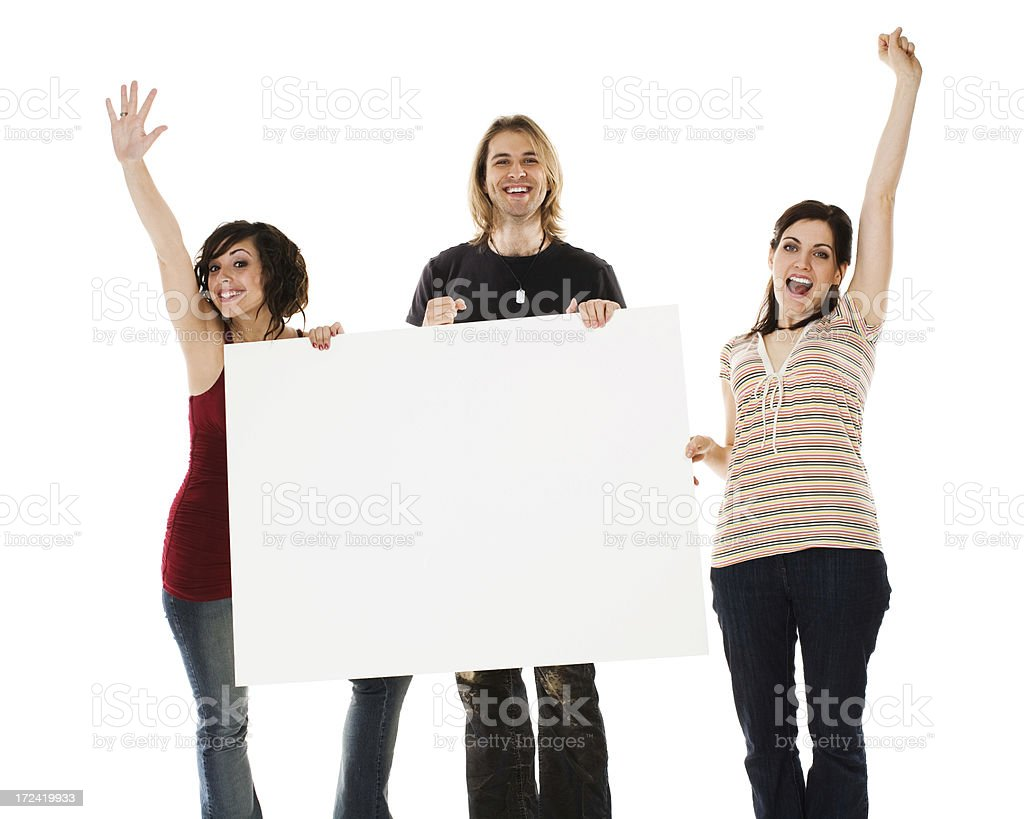 Just a happy group royalty-free stock photo