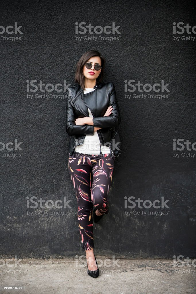 Just A Little Bit Of Rebel stock photo