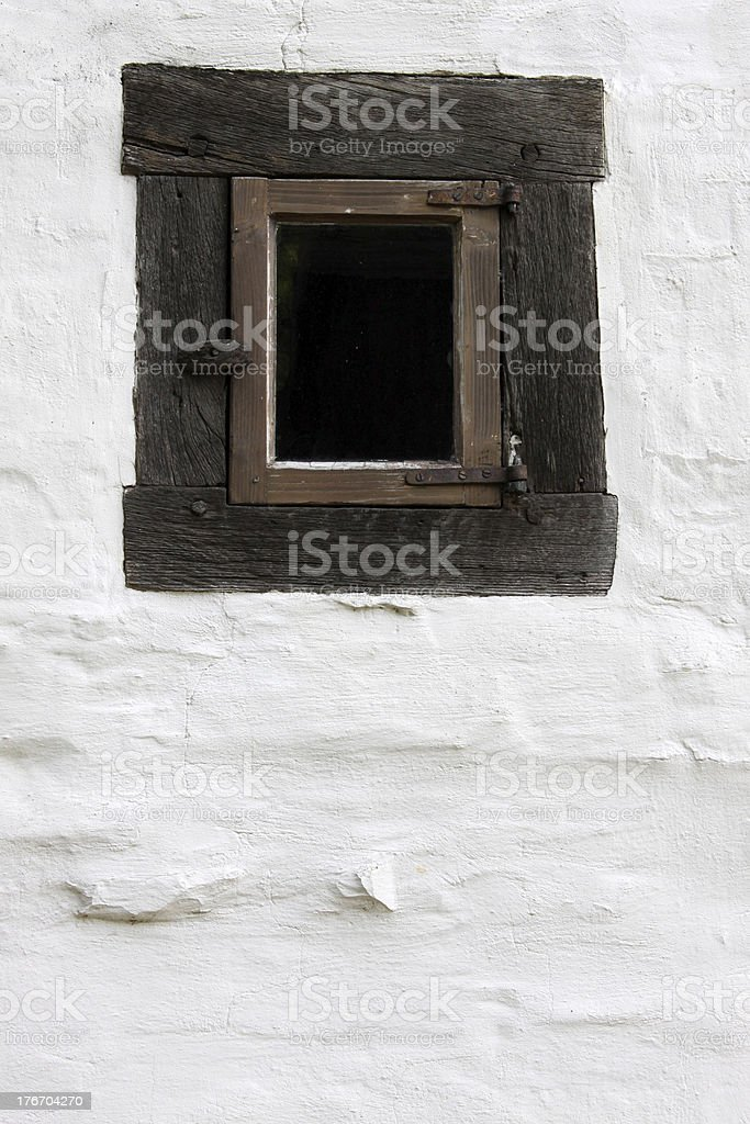 Just a simple window royalty-free stock photo