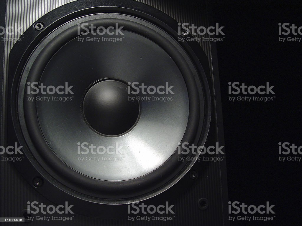 Just a speaker stock photo