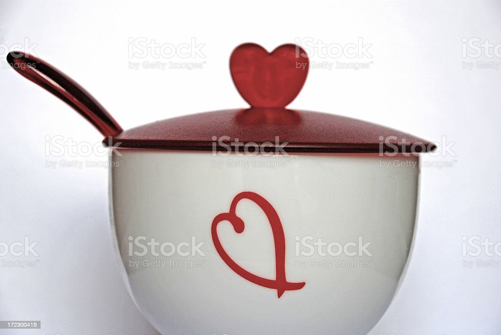 Just a spoonful of sugar... royalty-free stock photo