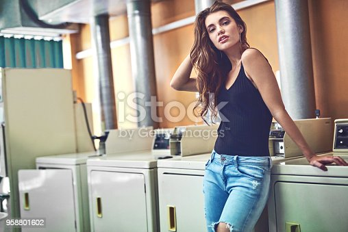 istock Just another day being domestic 958801602
