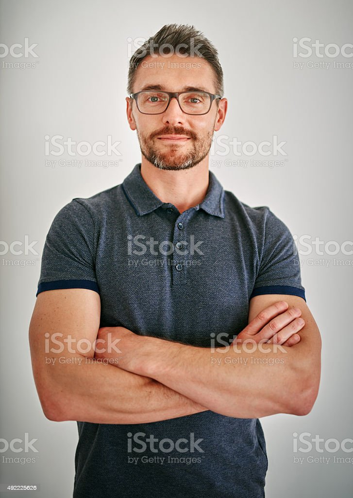 Just be confident stock photo
