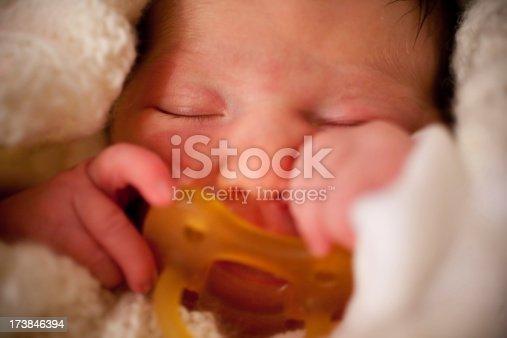 istock Just born child 173846394