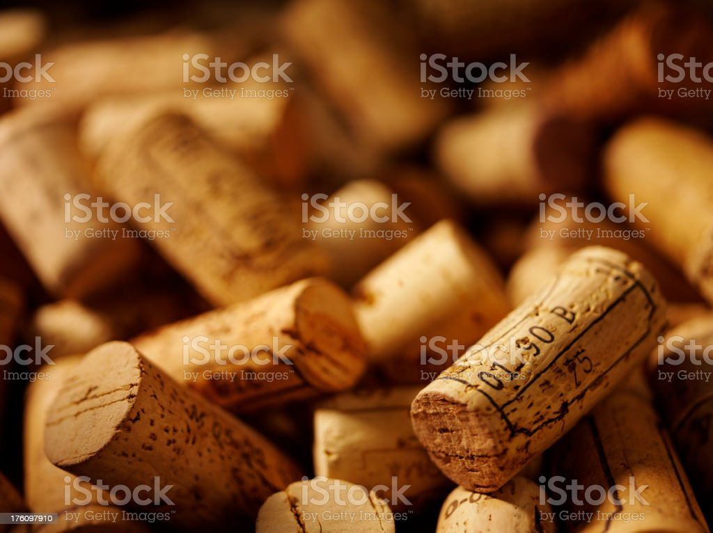Just  Bottle Corks royalty-free stock photo