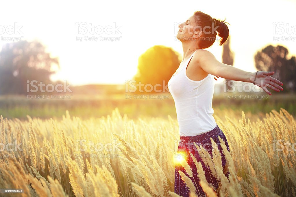 Just Breathe! royalty-free stock photo