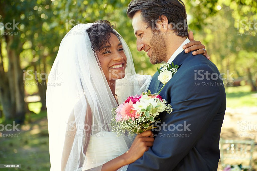 Just can't hide the happiness stock photo