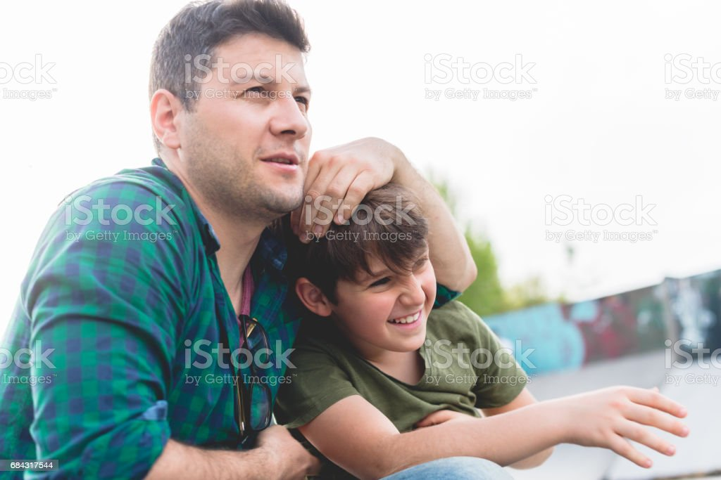 Just chillin with my dad – Foto