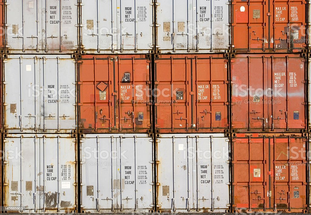 Just Containers royalty-free stock photo