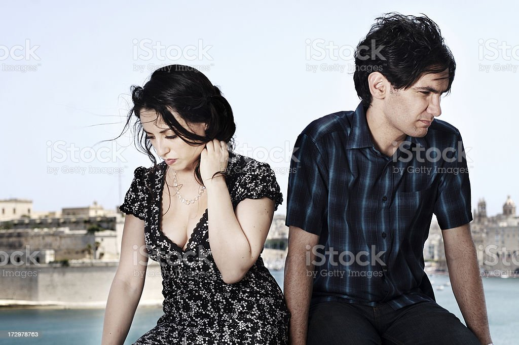 Just Don't know what to say stock photo