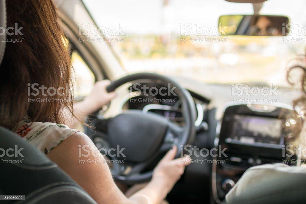 Just driving around stock photo