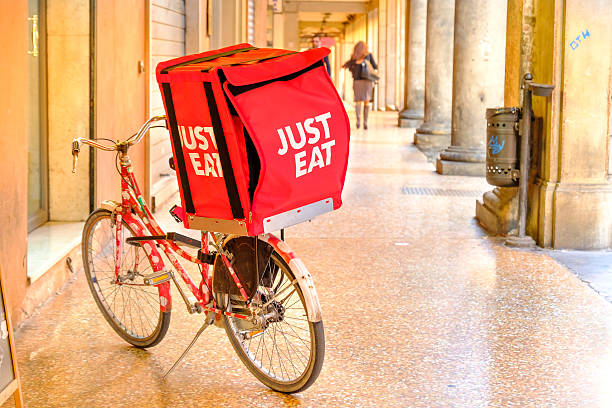 Just Eat bicycle delivery – Foto