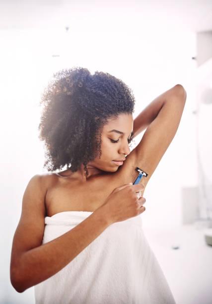 Shaving a her start armpits girl when should When Do