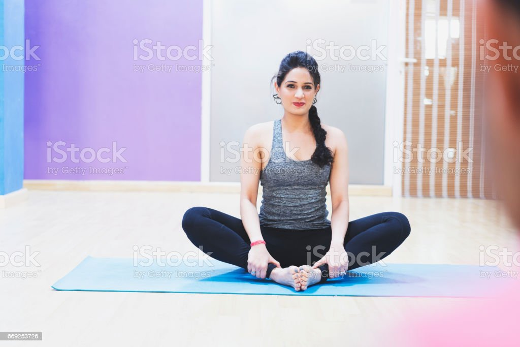 Just Follow My Instructions And You Will Learn Yoga In No Time Stock Photo Download Image Now Istock