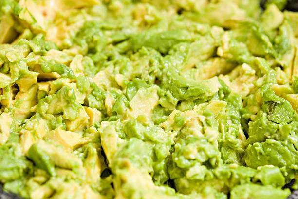 Just Guacamole stock photo