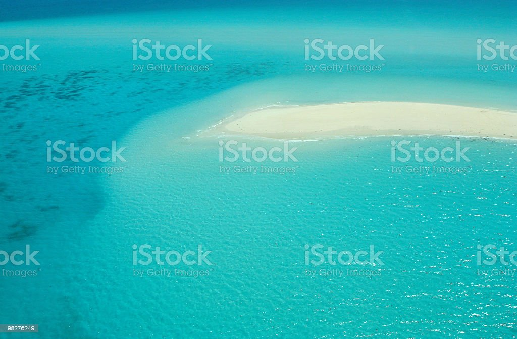 Just imagine this island and colors, unbelievably royalty-free stock photo