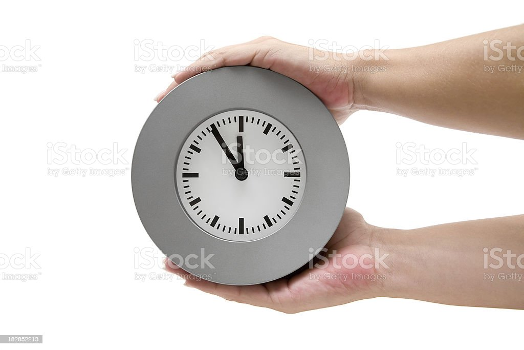 Just In Time royalty-free stock photo