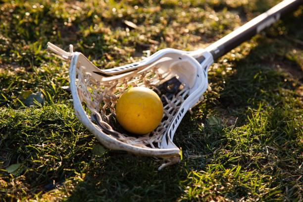 just laxin' around - kij do gry w lacrosse zdjęcia i obrazy z banku zdjęć