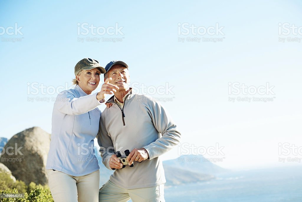 Just look at that view royalty-free stock photo